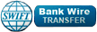 we use bank wire transfer